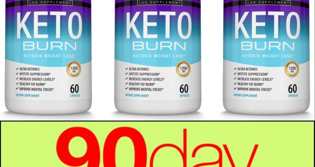 Keto Burn Diet Pills – Shark Tank Ultra Ketosis Weight Loss Supplement 3 Month