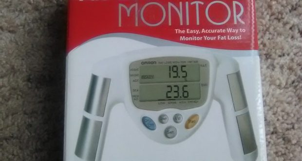 Omron HBF-306C Body Fat Loss Monitor BMI Analyzer