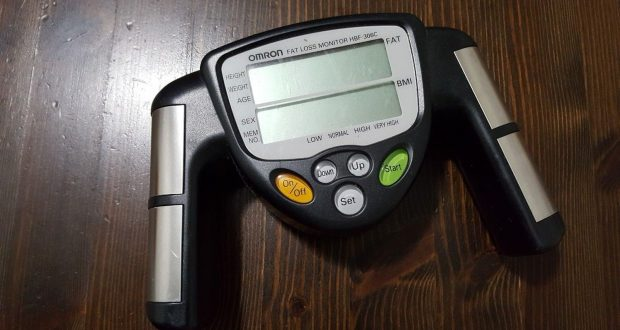 Omron HBF-306C Fat Loss BMI Monitor Analyzer