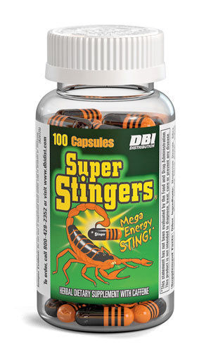 3x Bottles Super Stingers – 24 Capsules – Extreme Energy Weight Loss Fat Burn