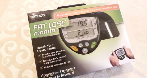 Omron fat loss monitor – HBF 306C
