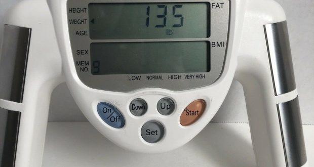 Omron HBF-306 Body Fat Loss BMI Analyzer Monitor