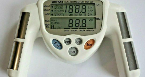 Omron Fat Loss Monitor / Body Fat Measure HBF-306C