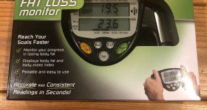 Omron HBF-306C Handheld Body Fat Loss Monitor