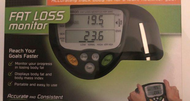 Digital Monitor Fat Loss Weight Analyzer Tester Meter Body Fat Mass – FREE SHIP!