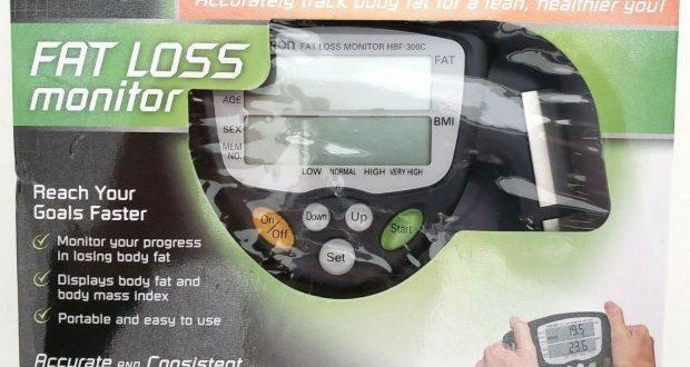 Monitor Omron HBF-306C Handheld Body Fat Loss Monitor