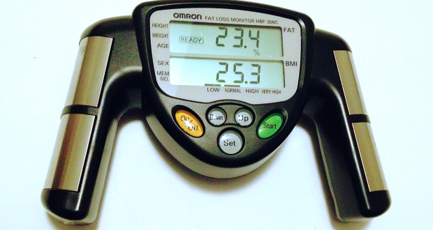 OMRON Digital Monitor Fat Loss Weight Analyzer Meter Bmi Body Fat Mass Weight