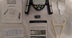 Omron HBF-306C Fat Loss Monitor-Body Fat Caliper & Mass Measuring Tape