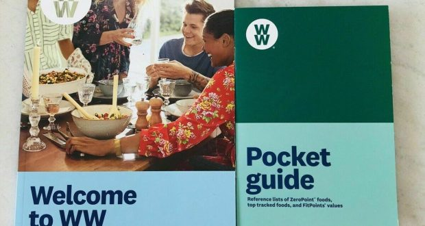 Weight Watchers FREESTYLE  – WELCOME BOOK + POCKET GUIDE