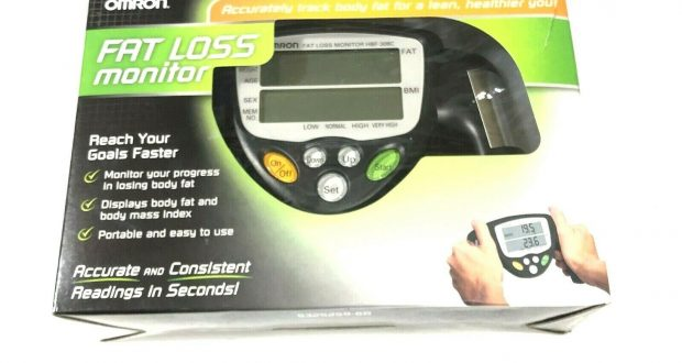Omron New HBF-306C Handheld Body Fat Loss Monitor BMI
