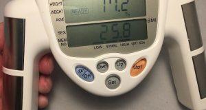 Omron HBF-306 Fat Loss Analyzer Monitor  Body Logic BMI Number