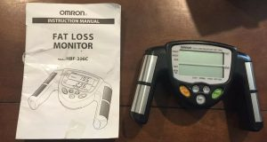 Omron HBF-306C Fat Loss Analyzer Monitor HBF-306CN Body Logic- Tested