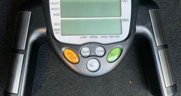 Omron HBF-306CN Fat Loss Monitor Body Fat Analyzer