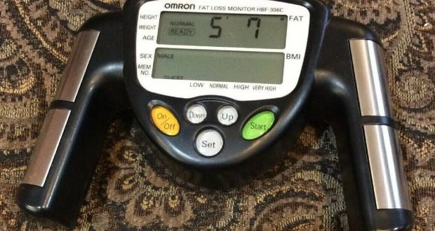 Omron Body Fat Loss Analyzer Monitor -Body Logic body fat fitness -FREE SHIPPING