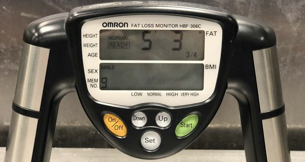 Omron HBF-306C Fat Loss Analyzer Monitor HBF-306C Body Logic