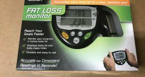 Omron HBF 306C Handheld Body Fat Loss Analyzer Monitor HBF 306CN