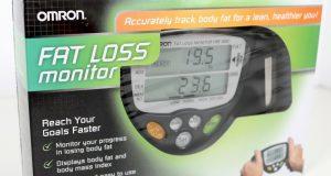 Omron HBF 306C Handheld Body Fat Loss Analyzer Monitor HBF306C Bodyfat Black