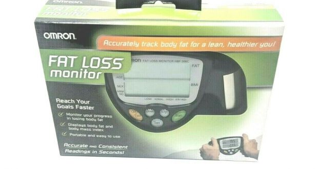 Omron HBF-306C Fat Loss Analyzer Monitor HBF 306CN Body Logic bodyfat fitness