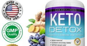 Keto Diet DETOX Pills 1532 MG – Ketosis Weight Loss Supplements Fat Burn