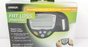 Omron HBF-306C Fat Loss Monitor Black Fast Free Shipping Body Fat Mass Index