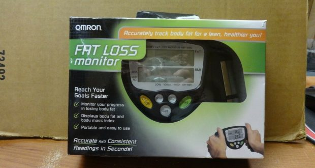 Omron Fat Loss Analyzer Monitor Body Logic Bodyfat Fitness  HBF-306C