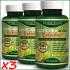 3 BOTTLES – 180 GARCINIA CAMBOGIA EXTREME Weight Loss Diet Capsules Slim Pills