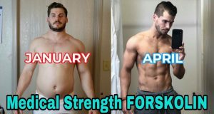 3 BOTTLES FORSKOLIN EXTRACT MAX STRENGTH 100% PURE 3400mg WEIGHT LOSS FAT BURN