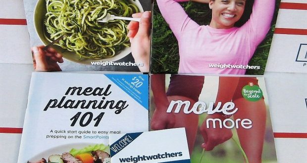 Weight Watchers SMART Points KIT – 4 Plan Guides & Mini-Journal Beyond the Scale