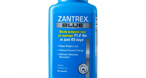 Zantrex Blue Rapid Weight Loss Fat Burn Energy Supplements 84 Capsules