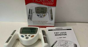 Omron Hand-Held Body Fat Analyzer BodyLogic 306 Omron HBF-306C Fat Loss Monitor