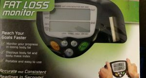 Omron HBF-306C Fat Loss Monitor in Box-Fat Tracker Analyzer HBF-306C