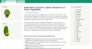Artichokes to Zucchini: Classic Recipes for 21 Green Vegetables | Julianne Gardens