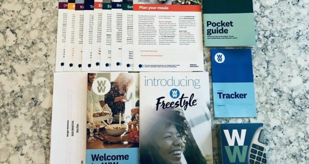 Weight Watchers 2019 FREESTYLE Plan WELCOME KIT + Pocket Guide + Calculator ++++