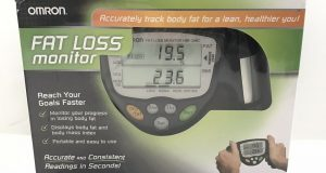 Omron Fat Loss Monitor HBF-306C New Open Box Battery Operated
