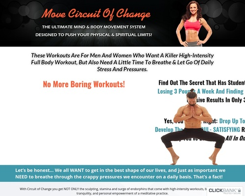Move Circuit Of Change: The Ultimate Mind And Body Movement System