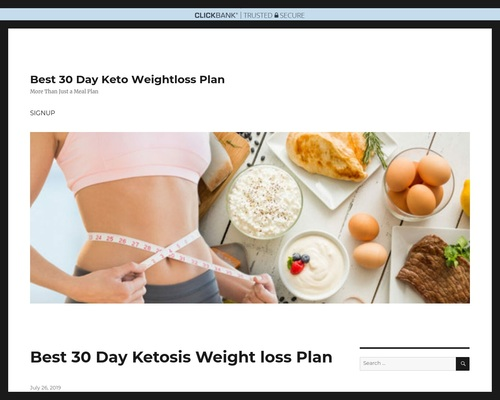 Keto 30 Day Weight killer
