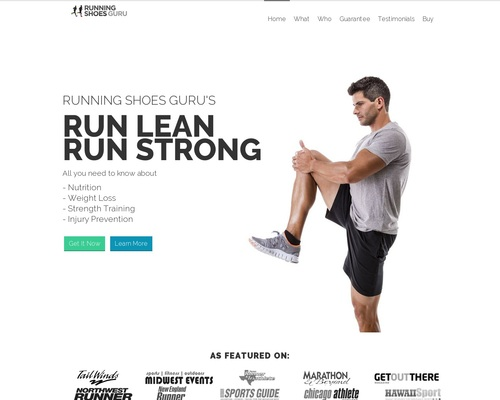 Run Lean Run Strong – By Running Shoes Guru