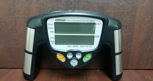 Omron HBF-306CN Fat Loss BMI Monitor Used