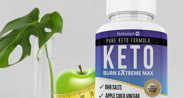 Keto Burn Extreme Max Fat Burner Diet Pills Ketogenic Weight Loss BHB Salts.