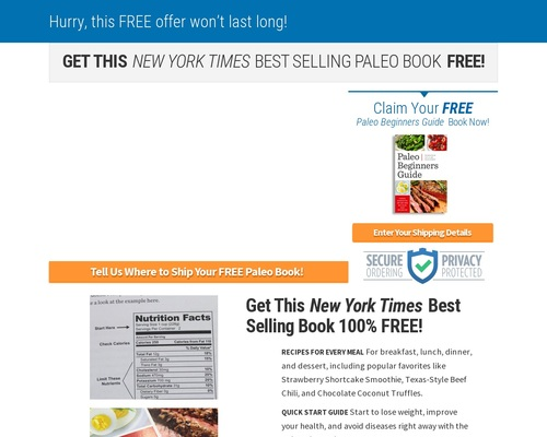 FREE Paleo Beginners Guide