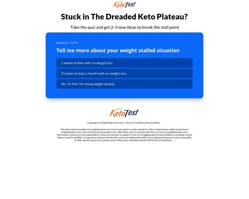 Stuck in The Dreaded Keto Plateau? | Simple Keto