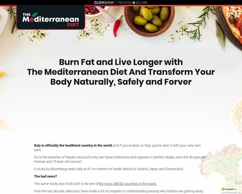 (1) The Mediterranean Diet Plan