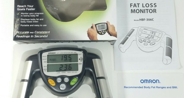 NEW Omron HBF-306CN HBF-306-Z5 Fat Loss Monitor Handheld Calculate BMI Fitness