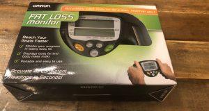 Omron HBF-306C Fat Loss Monitor Analyzer Handheld Fitness
