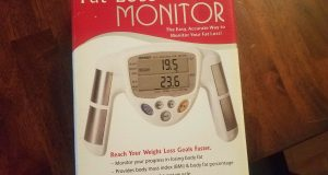 New Omron HBF-306C Fat Loss Monitor White Body Fat Mass Index FREE SHIPPING