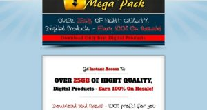 Digital Mega Pack – Over 25GB MRR Files To Download
