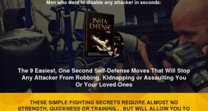 Clickbank Landing | Insta Self Defense