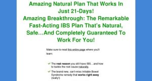 My IBS Story cb vsl | Overthrow IBS