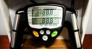 Omron HBF-306C Fat Loss BMI Monitor Tracker Black