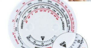 Body Mass Measuring Tape w/ BMI Calculator – Fitness Weight Loss Muscle Fat Test